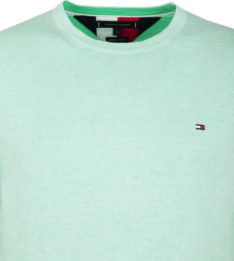Tommy Hilfiger Pullover R-Neck Mint Green photo 1