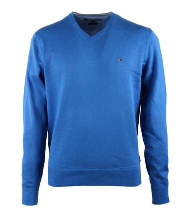 Tommy Hilfiger Pullover V-Hals Blauw  online bestellen | Suitable