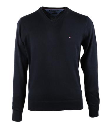Tommy Hilfiger Pullover V-Hals Donkerblauw  online bestellen | Suitable