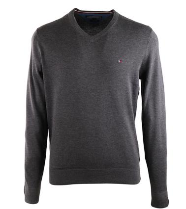 Tommy Hilfiger Pullover V-Hals Donkergrijs  online bestellen | Suitable