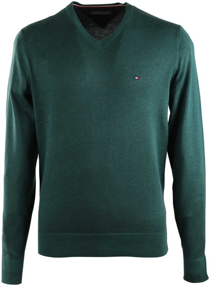 Tommy Hilfiger Pullover V-Hals Groen  online bestellen | Suitable