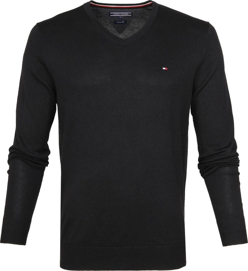 Tommy Hilfiger Pullover V-Neck Black photo 0