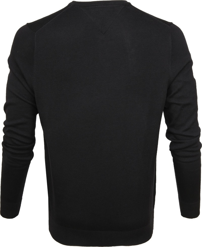 Tommy Hilfiger Pullover V-Neck Black photo 2