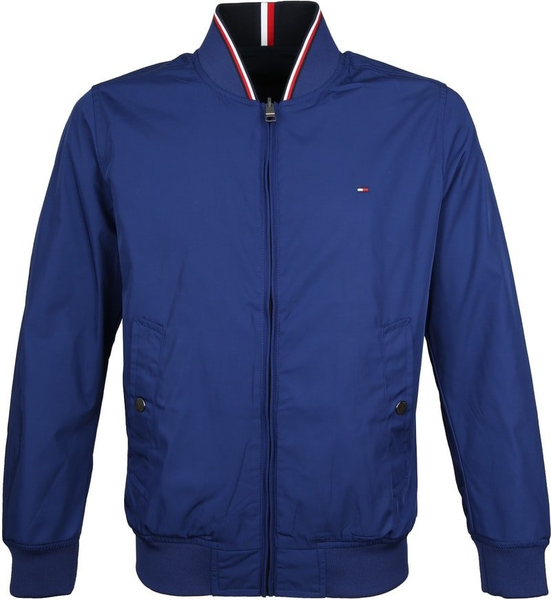 Tommy Hilfiger Reversible Jack Donkerblauw foto 0
