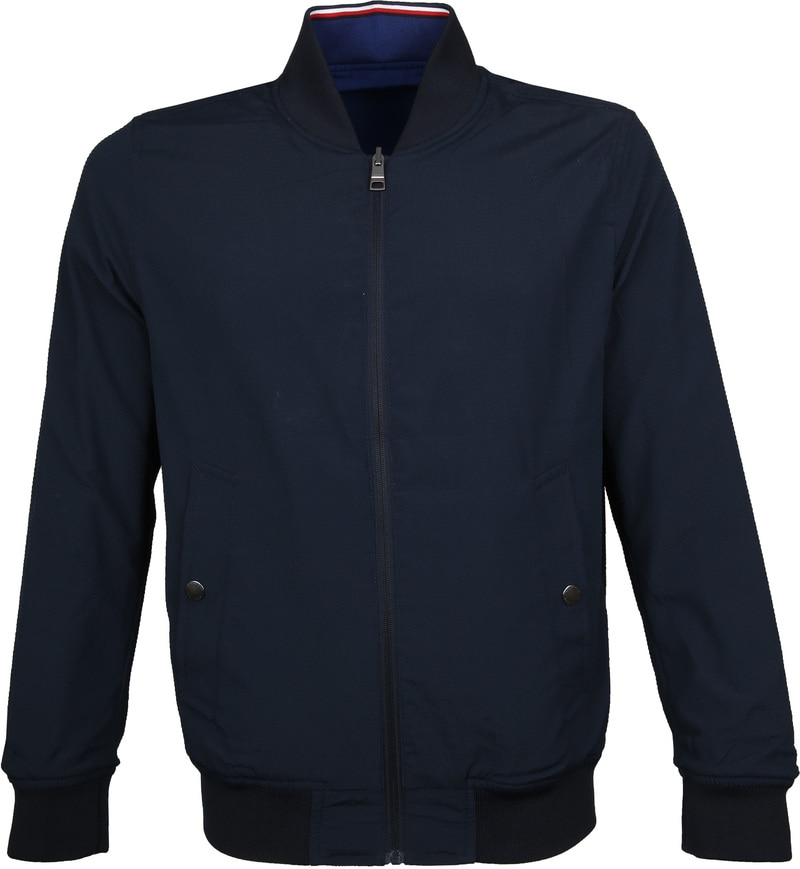 Tommy Hilfiger Reversible Jack Donkerblauw foto 1