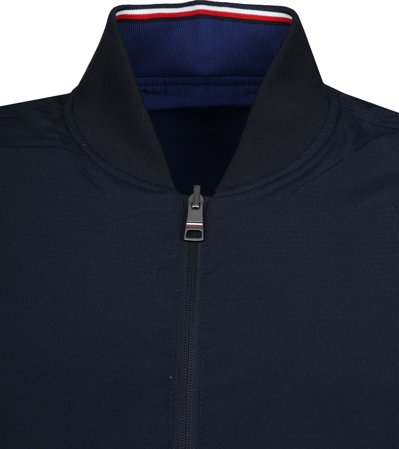 Tommy Hilfiger Reversible Jack Donkerblauw foto 2