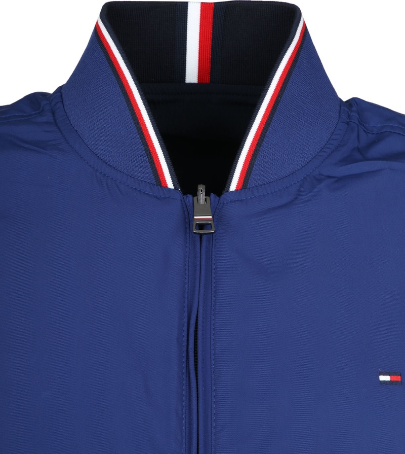 Tommy Hilfiger Reversible Jack Donkerblauw foto 3