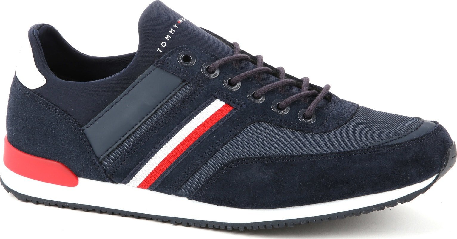 Tommy Hilfiger Sneaker Iconic Navy foto 0