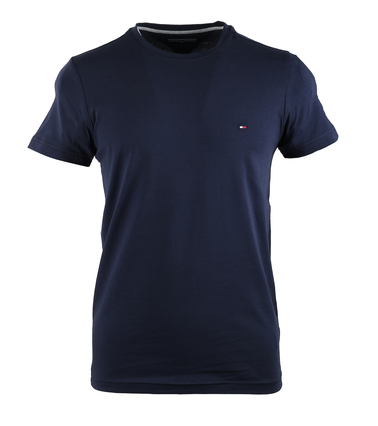 Tommy Hilfiger Stretch T-shirt Donkerblauw  online bestellen | Suitable