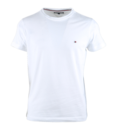 Tommy Hilfiger Stretch T-shirt Wit  online bestellen | Suitable