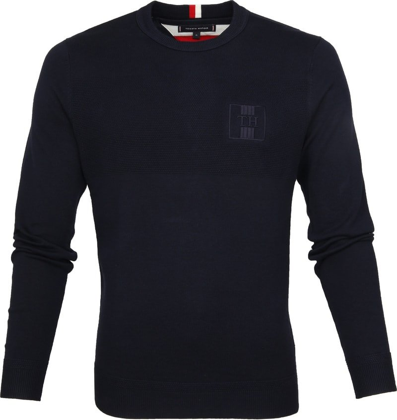 Tommy Hilfiger Structure Pullover Navy photo 0
