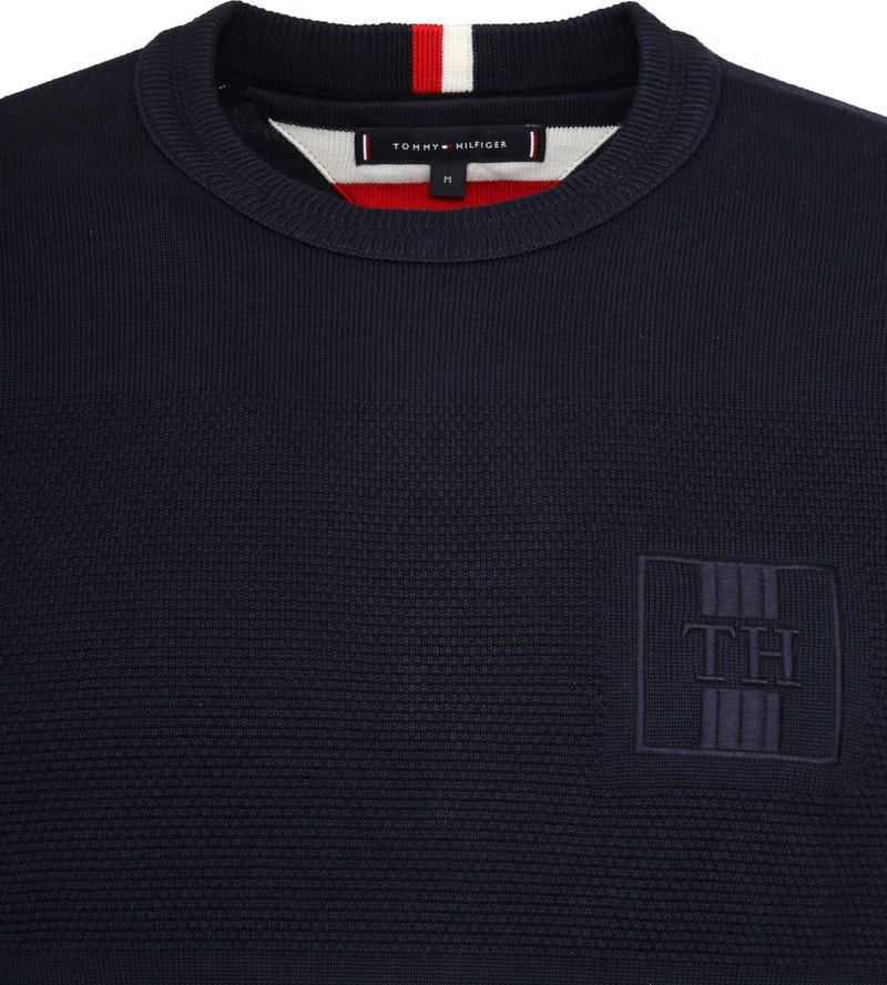 Tommy Hilfiger Structure Pullover Navy photo 1