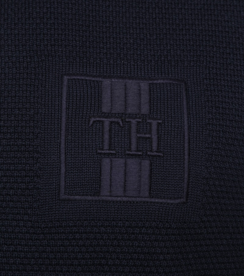 Tommy Hilfiger Structure Pullover Navy photo 2