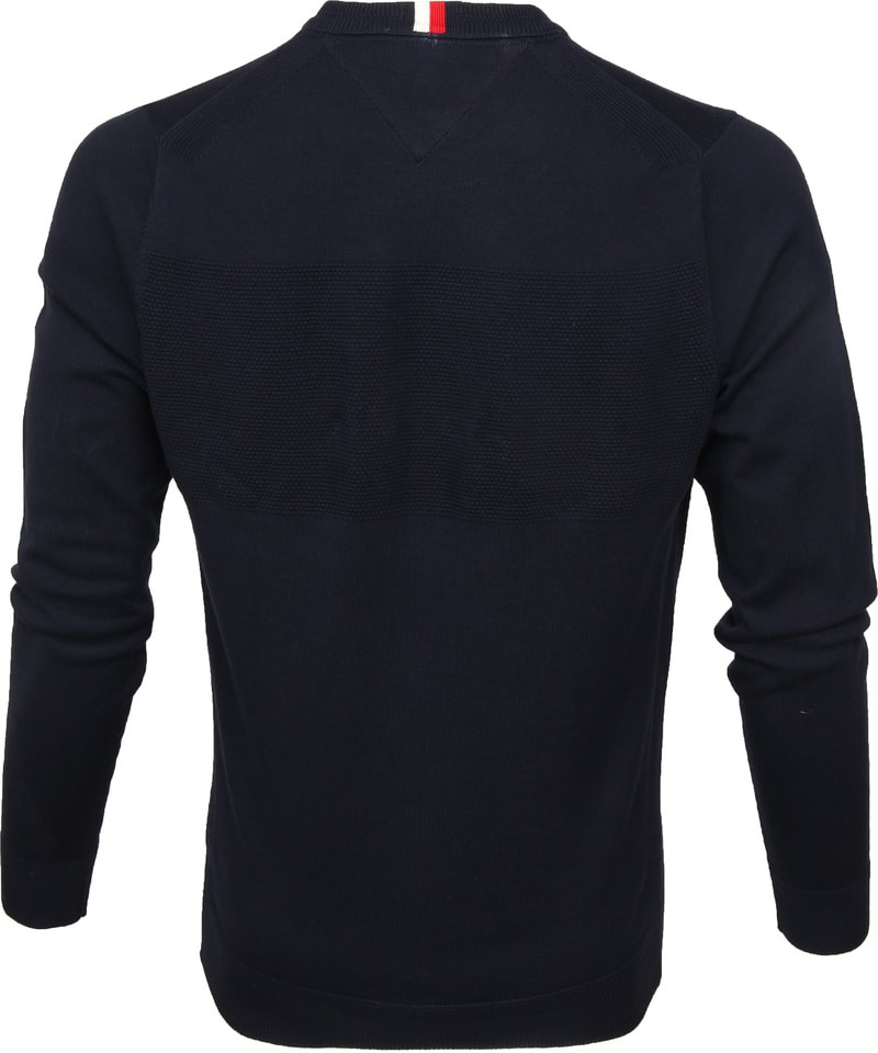 Tommy Hilfiger Structure Pullover Navy photo 3