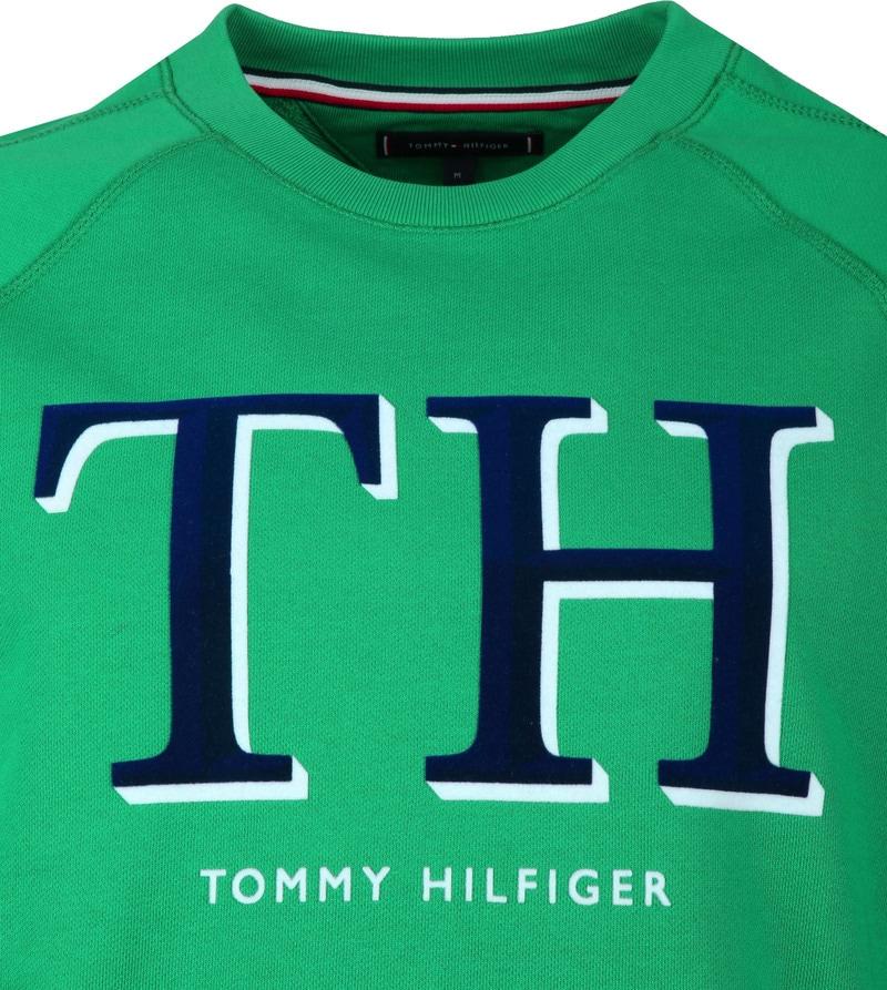 Tommy Hilfiger Sweater Groen foto 1