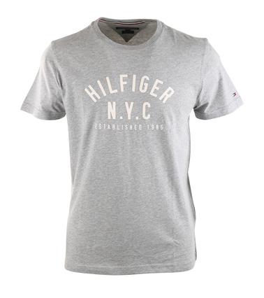 Tommy Hilfiger T-shirt Grijs Print  online bestellen | Suitable