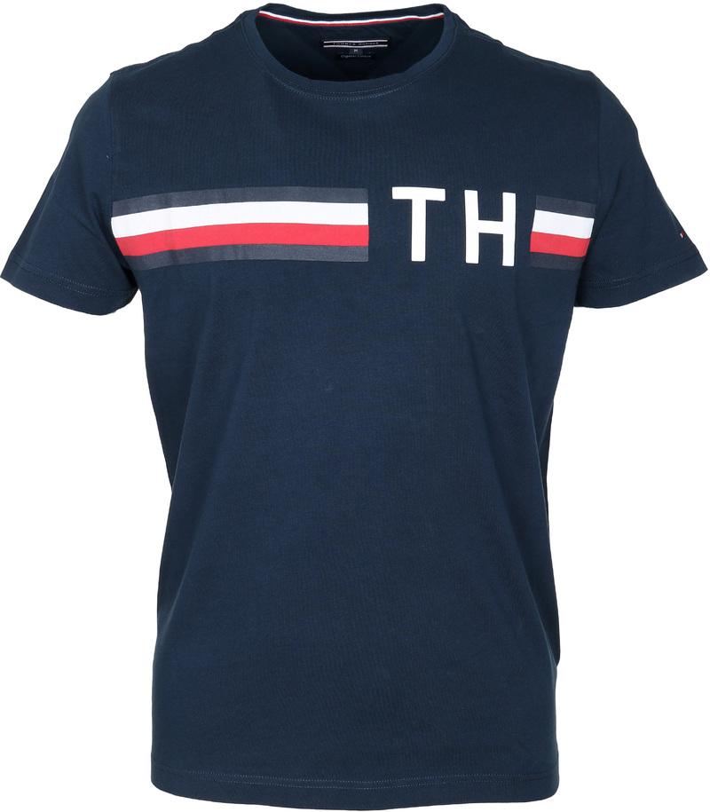 Tommy Hilfiger T-shirt TH Blauw  online bestellen | Suitable