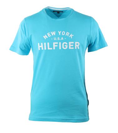 Tommy Hilfiger T-shirt Turquoise Print  online bestellen | Suitable