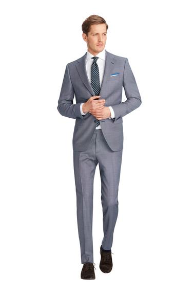 Van Gils Ellis Kostuum Blauw Pinpoint  online bestellen   Suitable