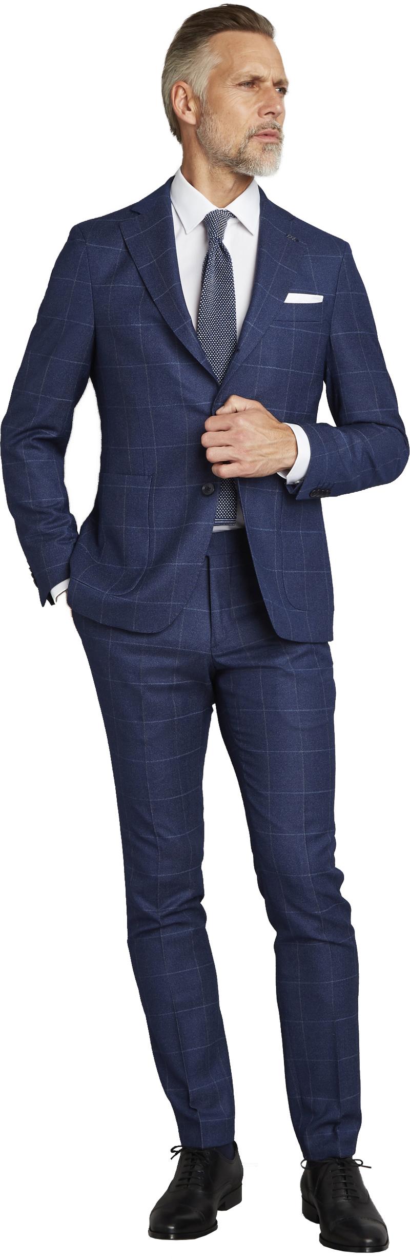 Van Gils Elwyn Suit Royal Checks photo 0