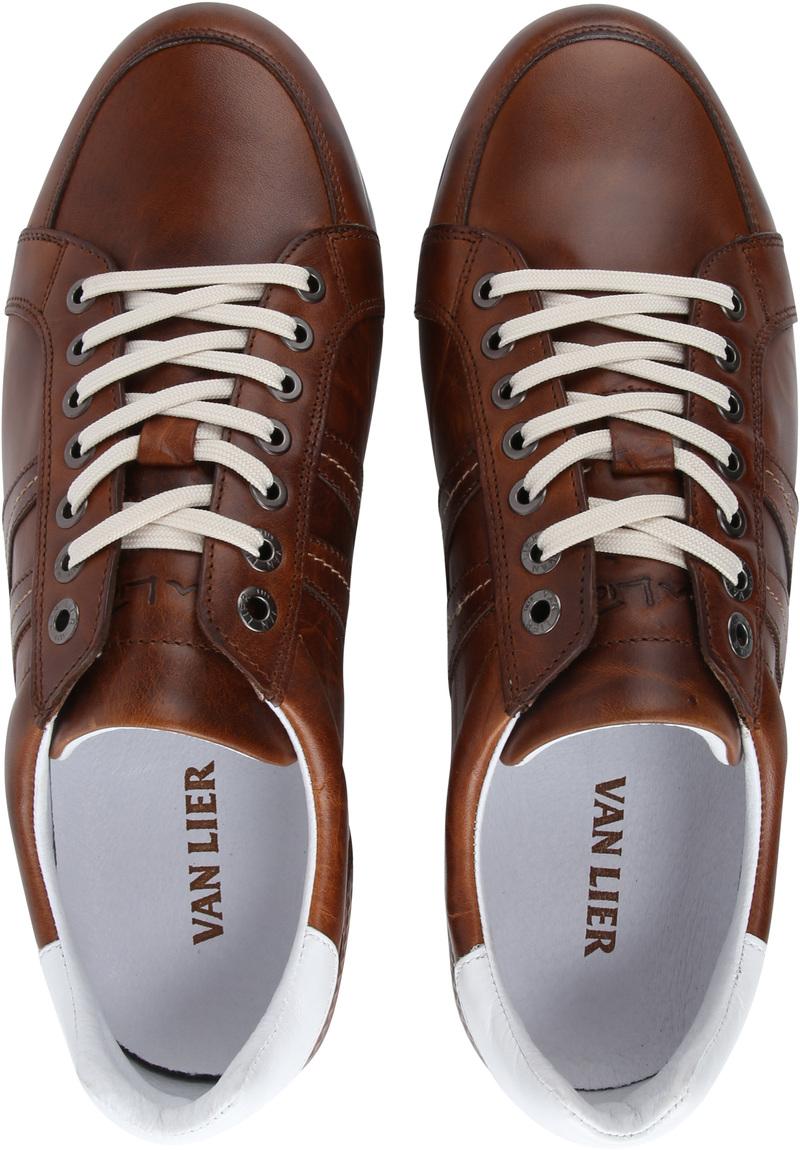 Van Lier Anzano Herensneaker Cognac foto 4