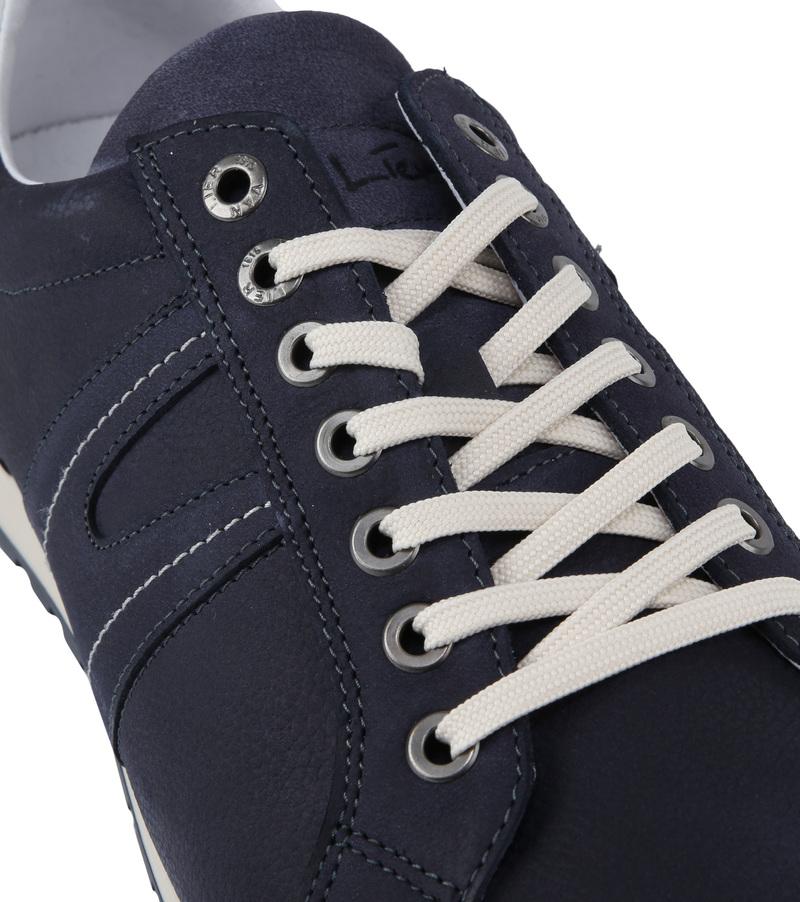 Van Lier Anzano Herensneaker Donkerblauw foto 1