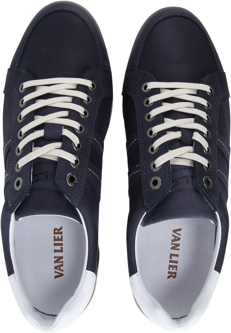 Van Lier Anzano Herensneaker Donkerblauw foto 4