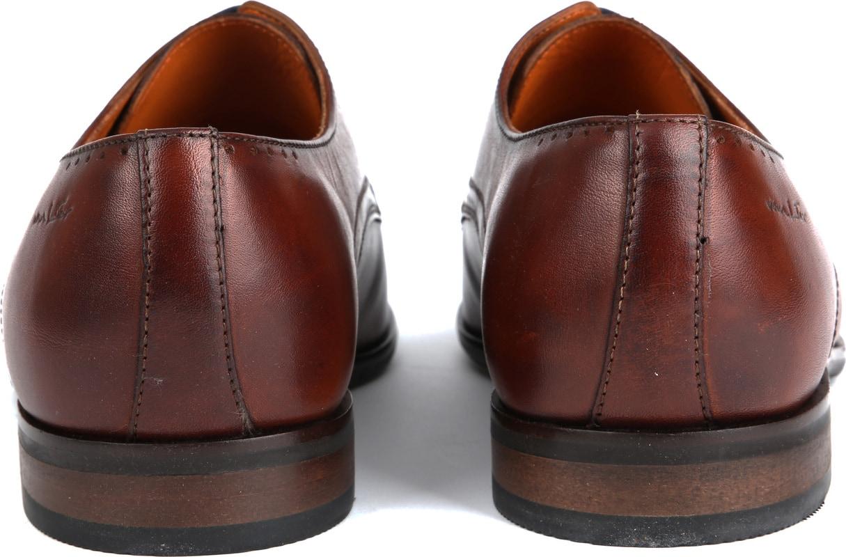 Van Lier Dress Shoes Cognac Lether photo 2