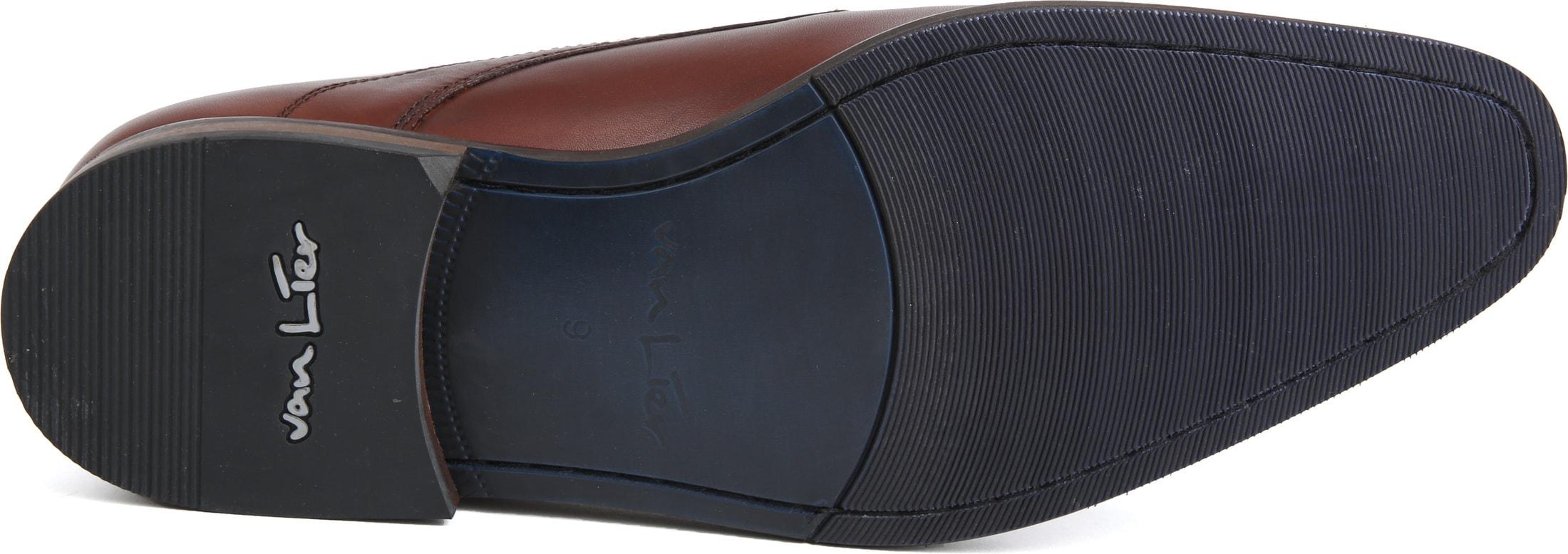 Van Lier Dress Shoes Cognac Lether photo 3