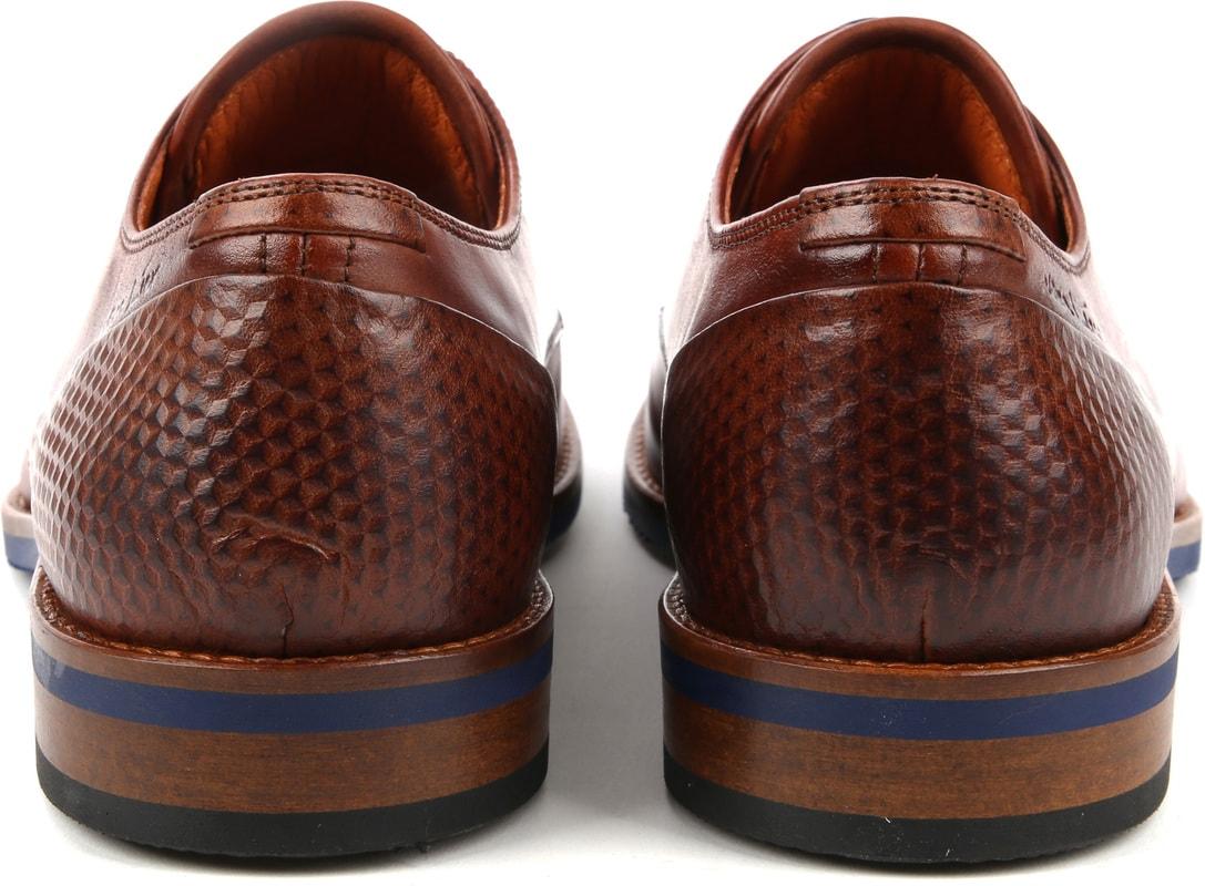 Van Lier Dress Shoes Nubuck Combi Cognac photo 2