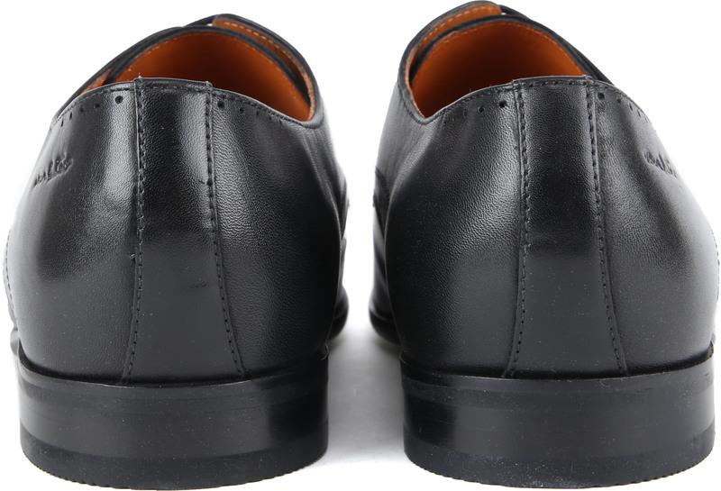 Van Lier Schoen Zwart Leer