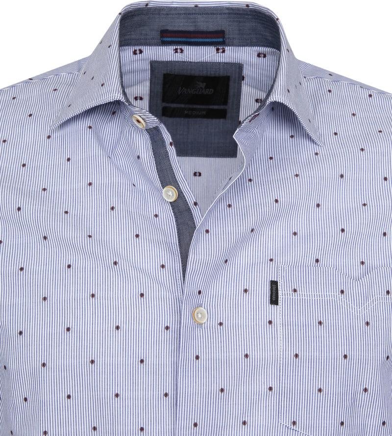 Vanguard Casual Overhemd Strepen foto 1