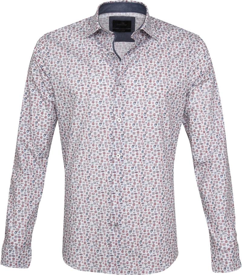 Vanguard Casual Shirt Print Red VSI195400 order online