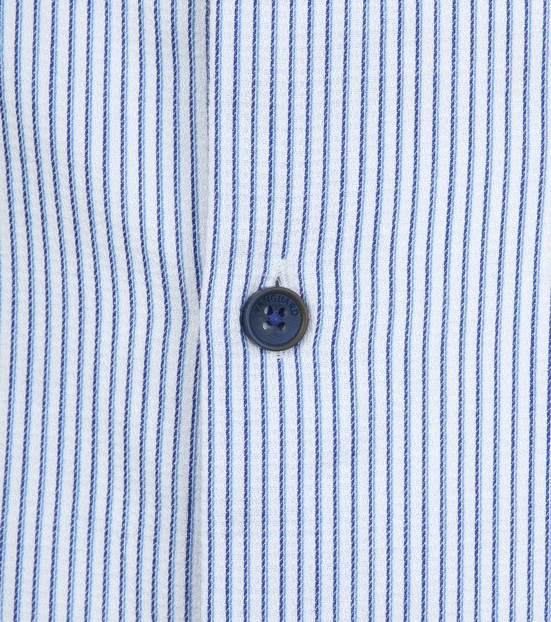 Vanguard Hemd Streifen Blau Foto 2
