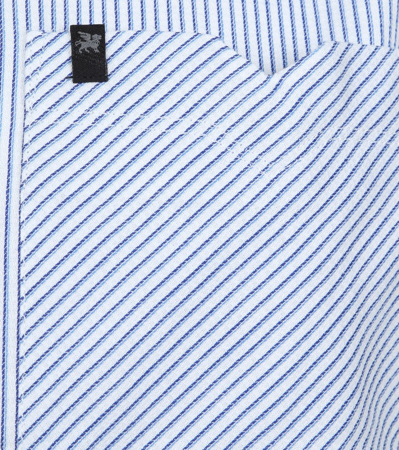 Vanguard Hemd Streifen Blau Foto 3