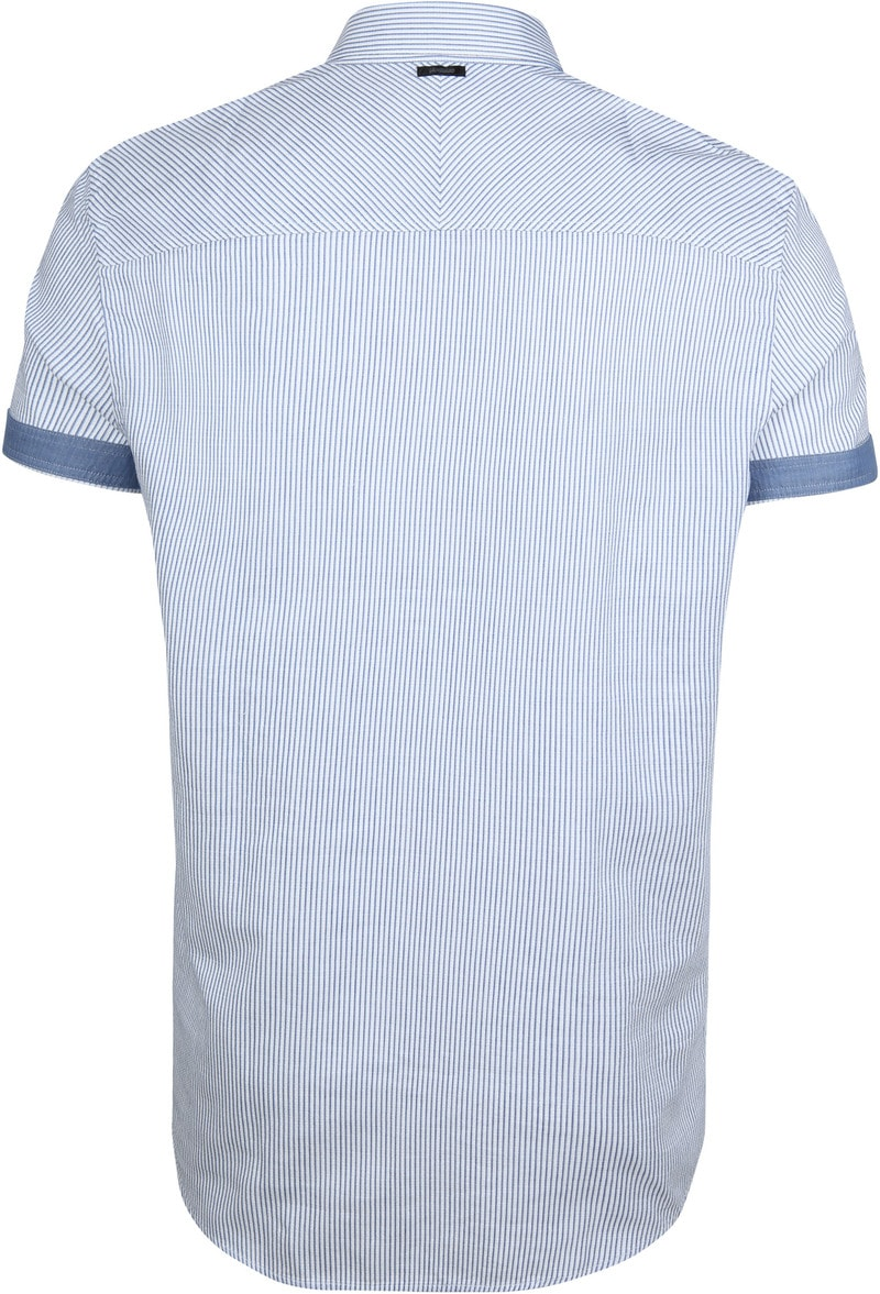 Vanguard Hemd Streifen Blau Foto 5
