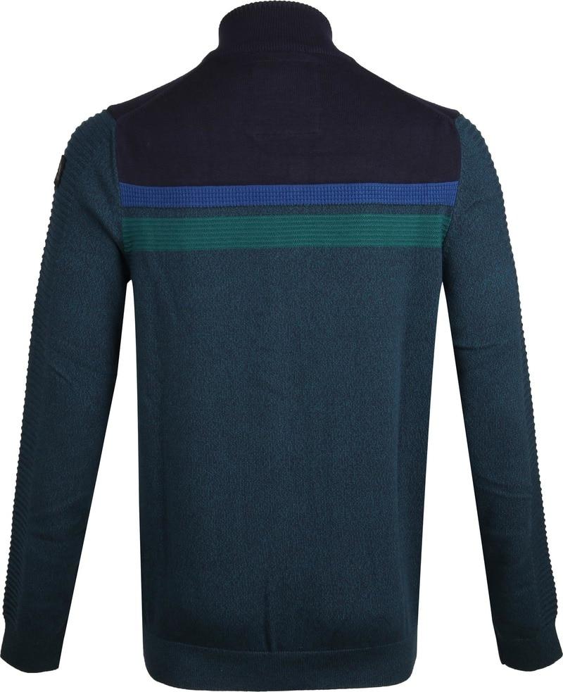 Vanguard Mouline Zip Jacket Dark Green photo 3