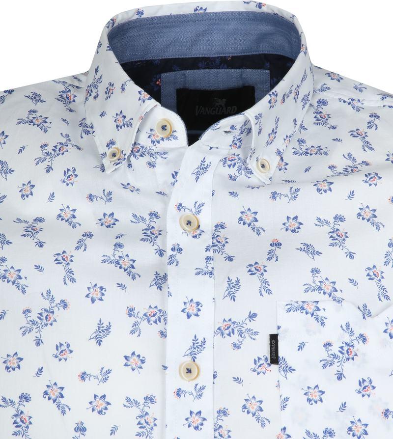 Vanguard Overhemd Bloemen Wit foto 1