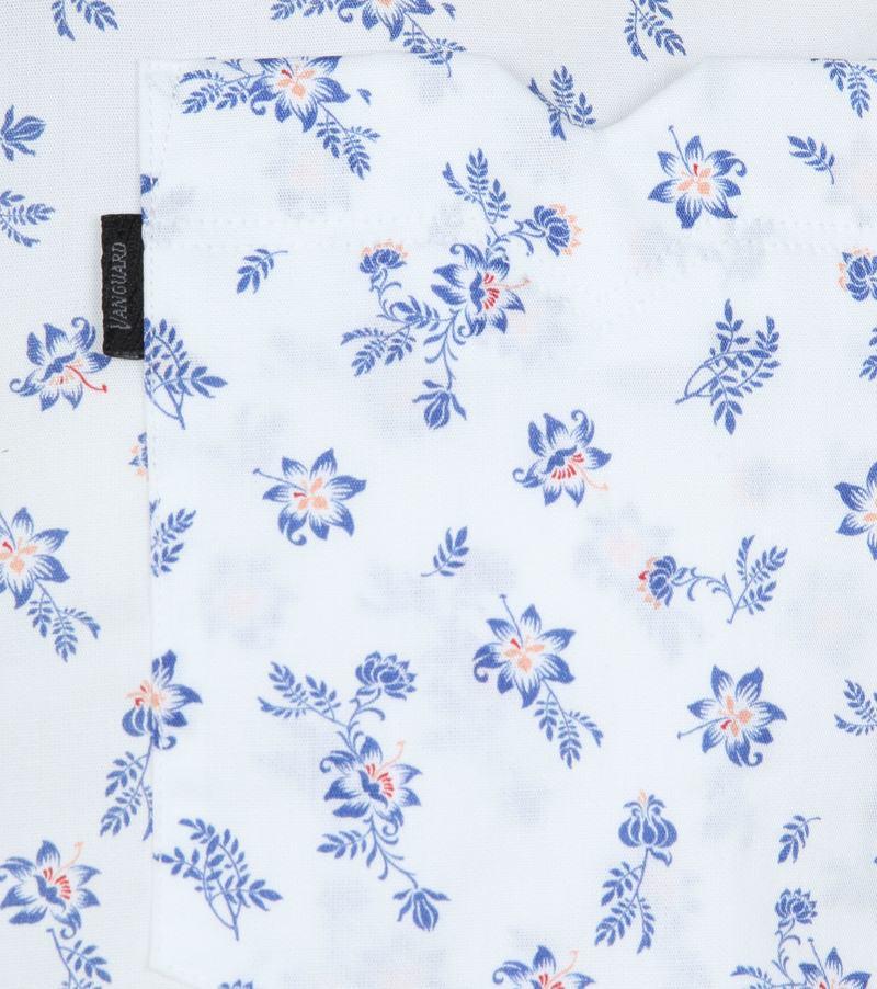 Vanguard Overhemd Bloemen Wit foto 2