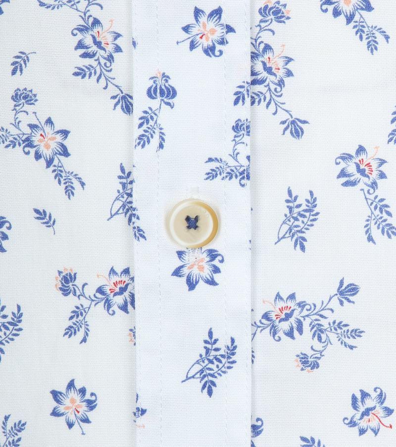 Vanguard Overhemd Bloemen Wit foto 3