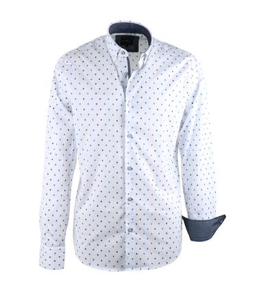 Vanguard Overhemd Wit Prints  online bestellen | Suitable