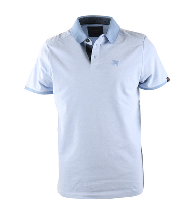Vanguard Poloshirt Blauw Pique  online bestellen | Suitable