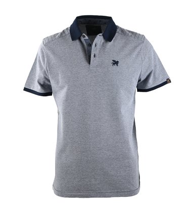Vanguard Poloshirt Donkerblauw Pique  online bestellen | Suitable