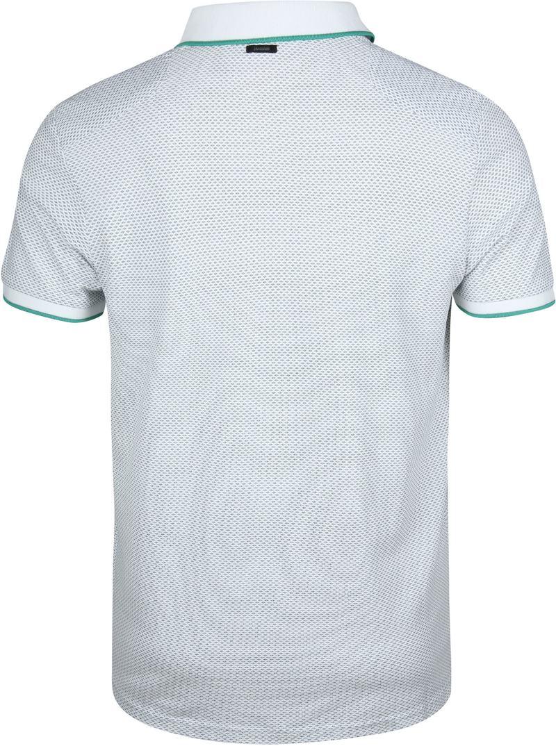 Vanguard Poloshirt Pique Design White photo 4
