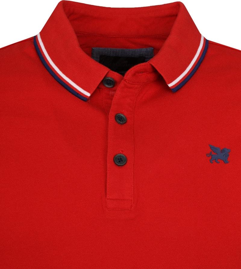 Vanguard Poloshirt Pique Red photo 1