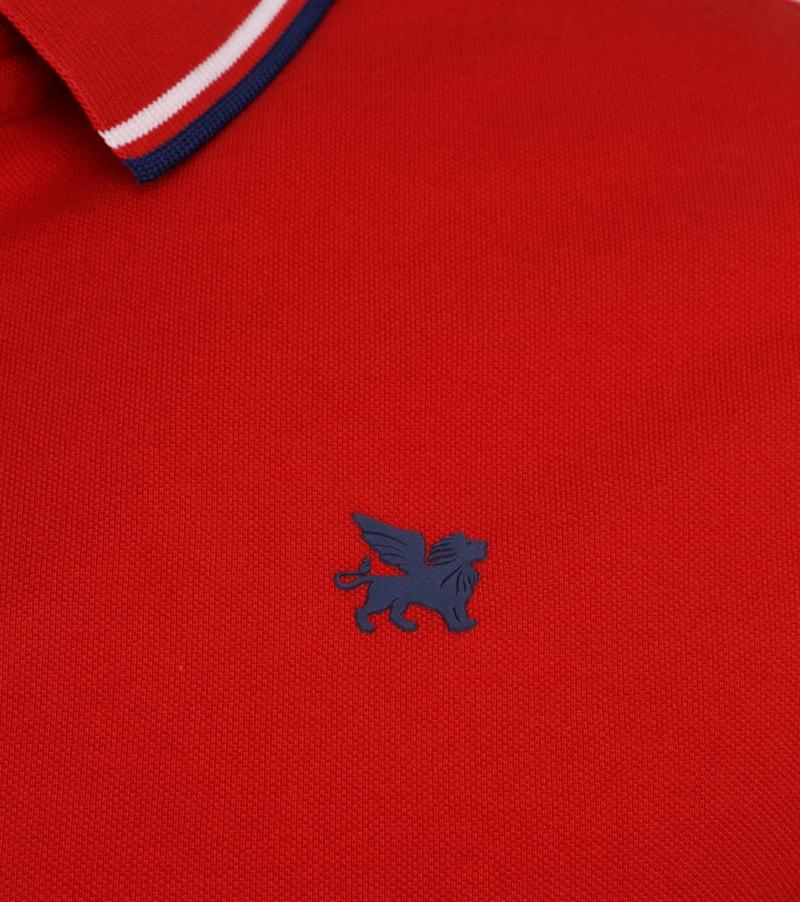 Vanguard Poloshirt Pique Red photo 2