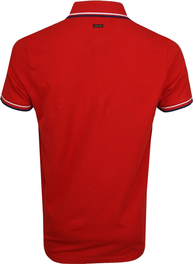 Vanguard Poloshirt Pique Red photo 3