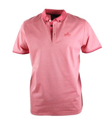Vanguard Poloshirt Rood Jacquard  online bestellen   Suitable