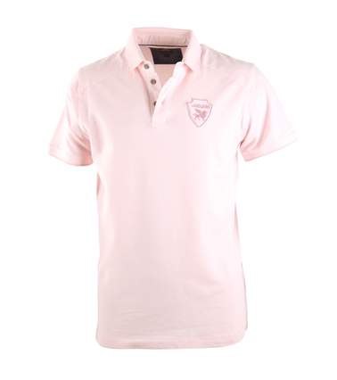 Vanguard Poloshirt Roze Stretch  online bestellen | Suitable