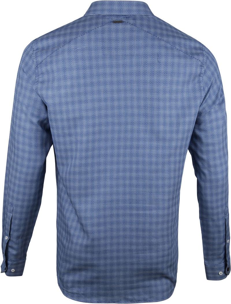 Vanguard Print Overhemd Print Navy foto 3